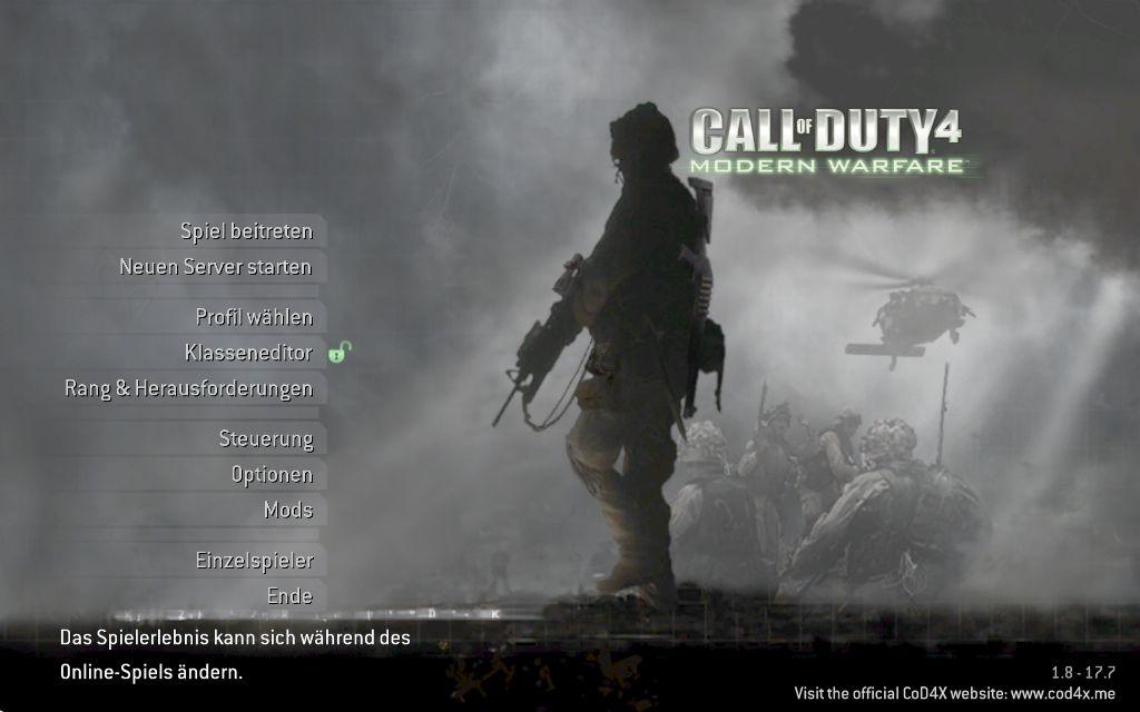 Call of duty 4: modern warfare v1. 6 patch file mod db.
